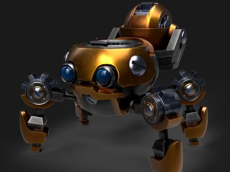 Mechagon hardsurface