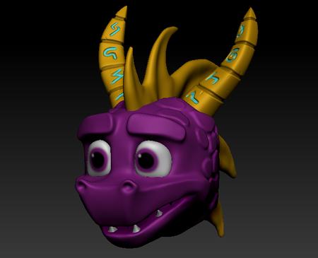 Spyro sculpt