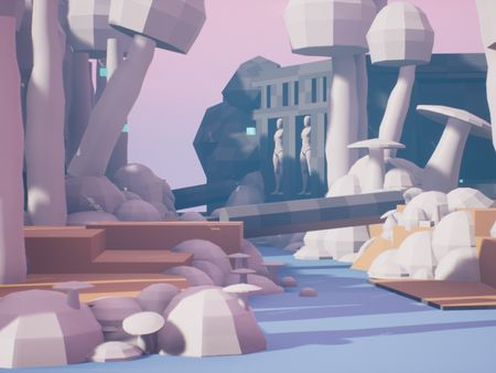 A Desolate Temple
