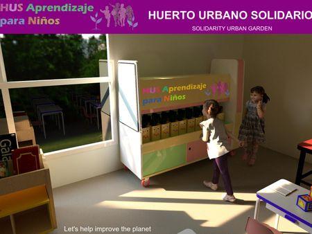Urban Garden for Kindergarten