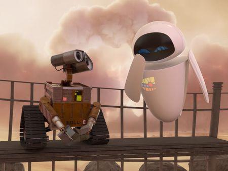 Wall-e & Eva - Recreation