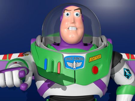 """Buzz Lightyear  """"To infinity and beyond!"""""""