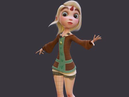 Full Cartoon Character