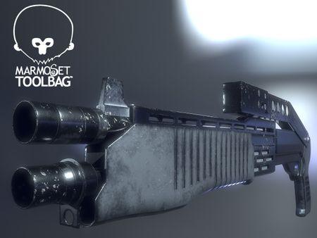 Shotgun Franchi SPAS-12 realtime