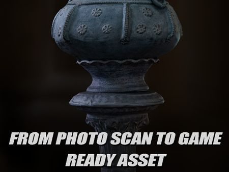 From Photo Scan to Game Ready Asset