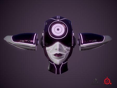Sci-fi Head