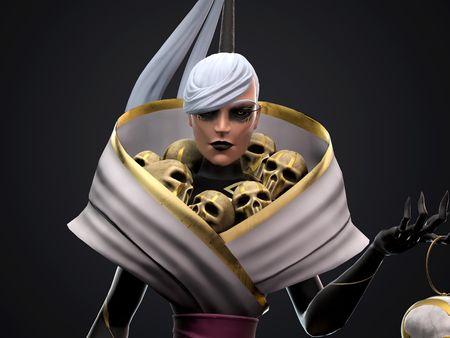 Melinda, The Golden Necromancer