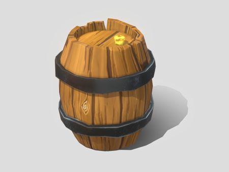 Lol poly Barrel