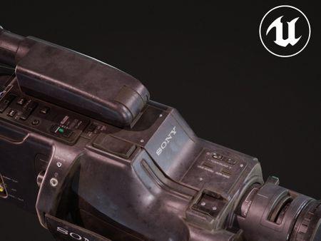 SONY CCD-F335E camera