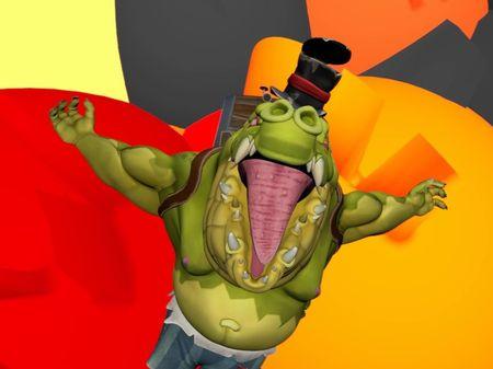 Croc Character Animation Reel