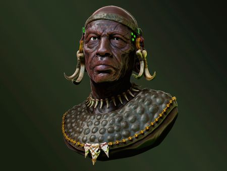 Tribal Chieftan - Planet Junk