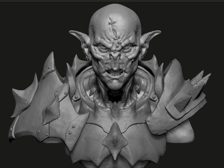 First steps in ZBrush !