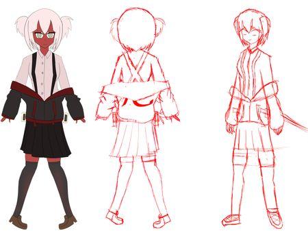 Aika Character Design