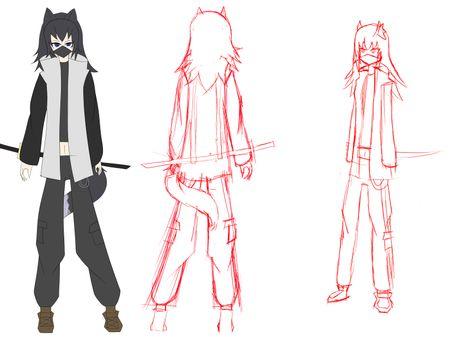 Akane Character Design