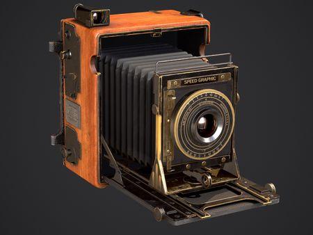 Speed Graphic 4x5 Camera