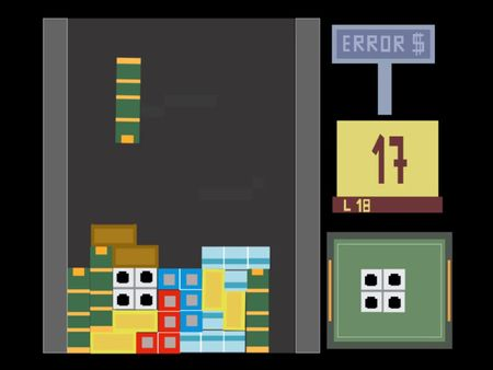 Animación de Tetris