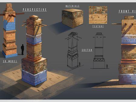 Pillar sheet