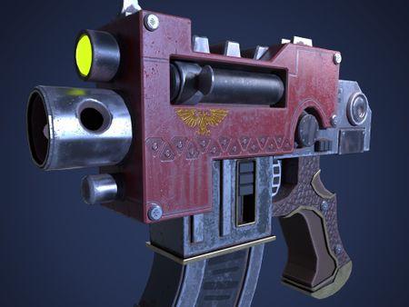 Bolt Pistol From WarHammer 40k