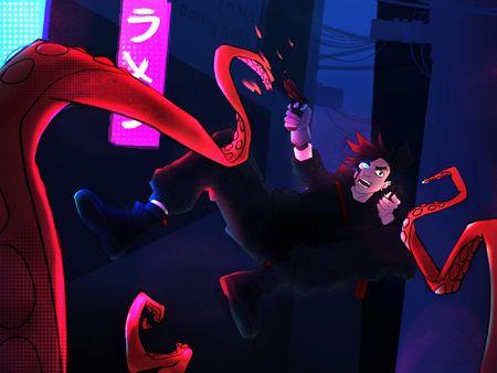 Action Shot - Character Design