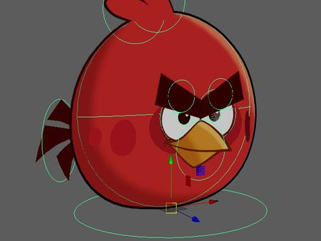 Angry bird animation