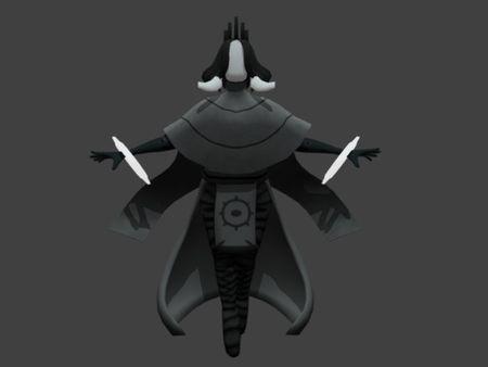 Sorceress  Character Model