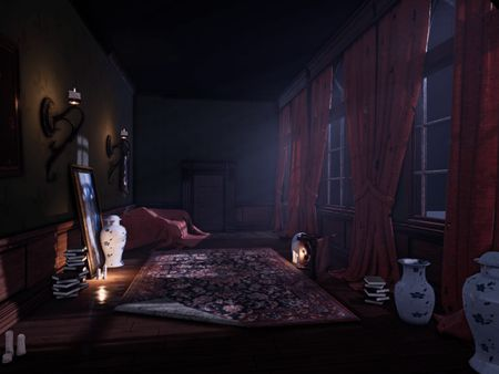 Victorian Manor Realtime Game Environment
