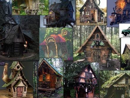 Substance Texturing Challenge - Kombi - Witch's Hut