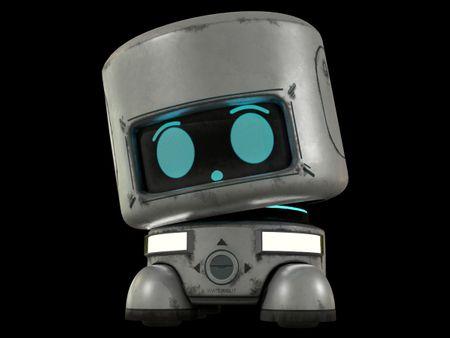 Curious Little Robot