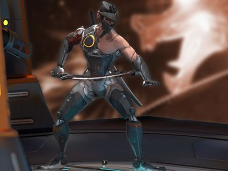 Overwatch: Genji Blackwatch