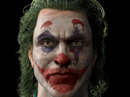 Arthur Fleck / The Joker of Joaquin Phoenix.
