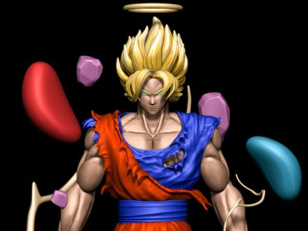Goku Super Sayan - Janemba's Battle