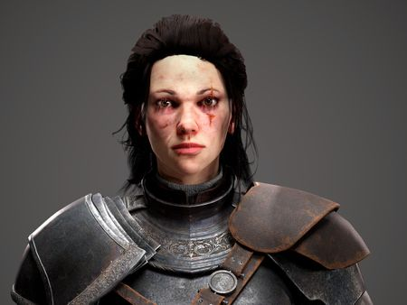 Elisheba || Real Time Character for Videogames