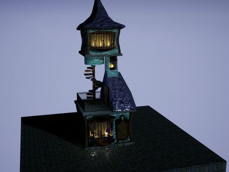 Diagon Alley Hat Store Concept