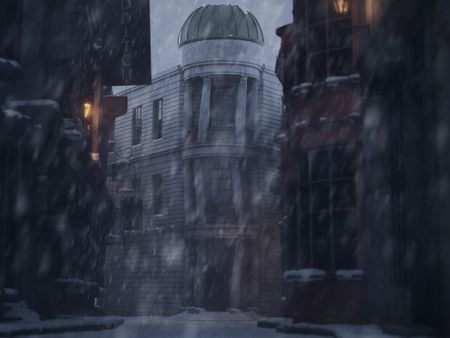 SNOWY DIAGON ALLEY