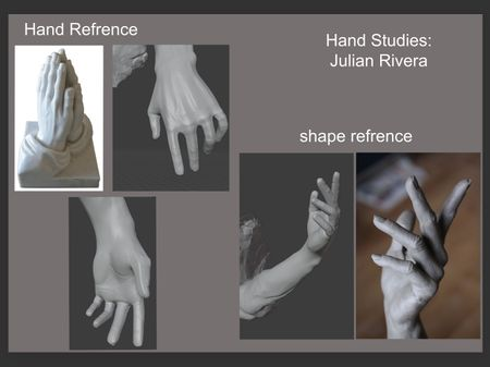 Julian Rivera Hand Studies
