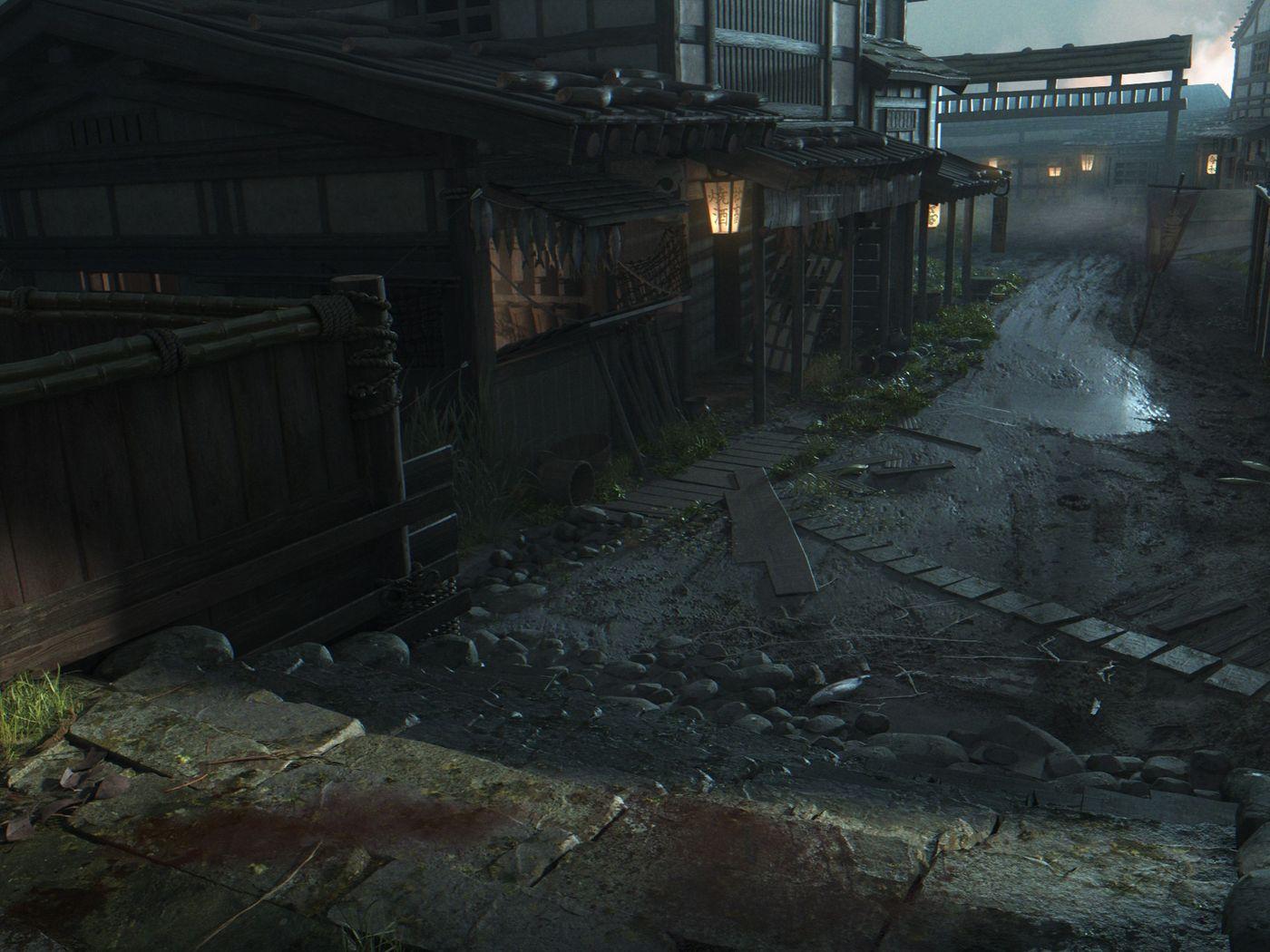 Ghost of Tsushima 3D Enviro