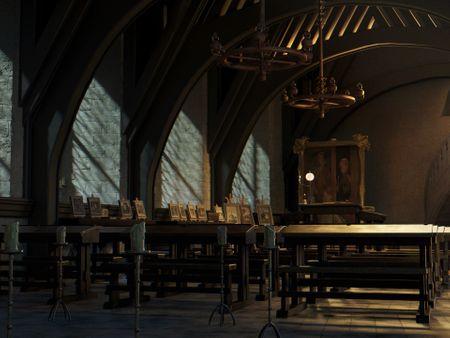 3D Harry Potter Environment