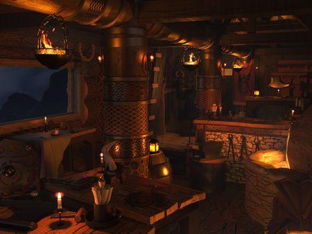 Viking Hut 3D