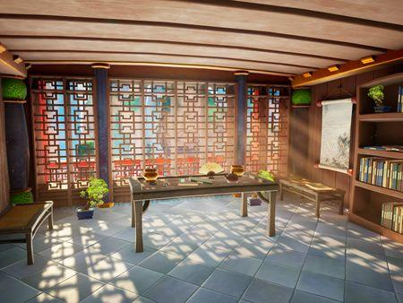 Scholar's Room VR
