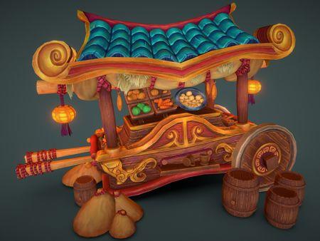 Pandaren Food Cart