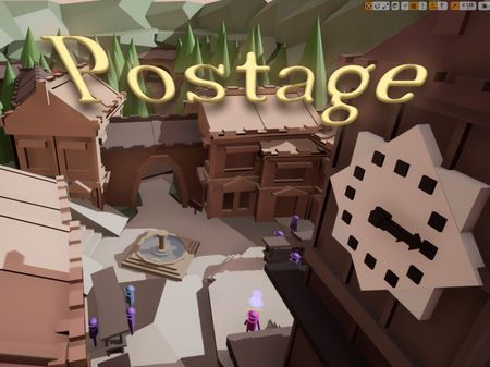 Postage Unreal Engine Level Block-Out