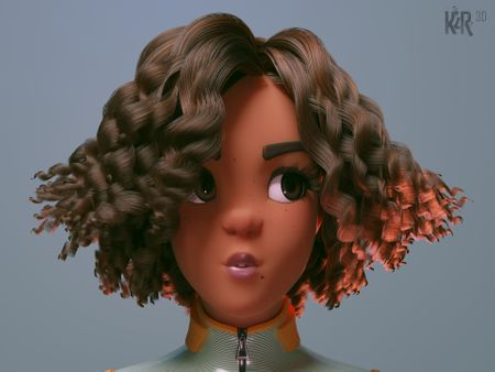 Sasha - 3D Adaptation