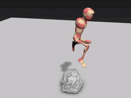 jumping animation character