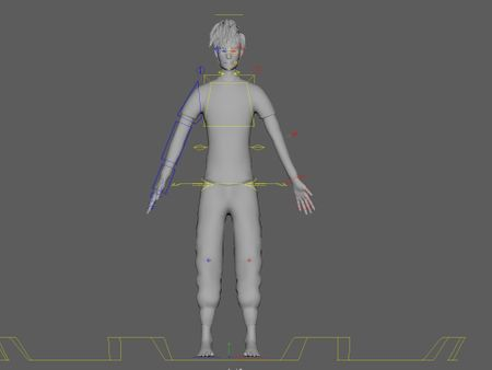 Stylized Male Character Rig