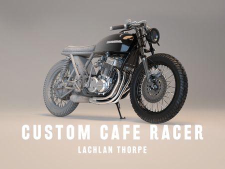 Custom, CB750 Four, Cafe Racer