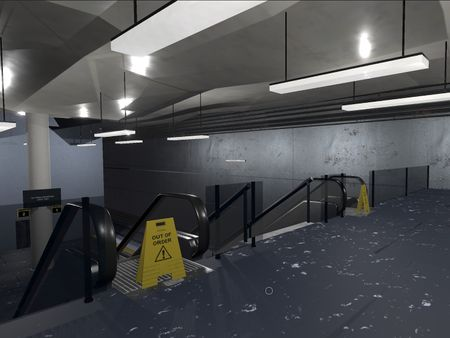 "3D Escape ""room"" - Train station"