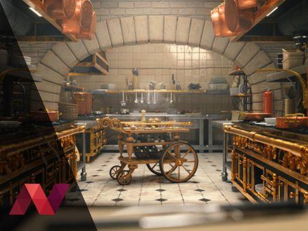 Ratatouille 3D Environment