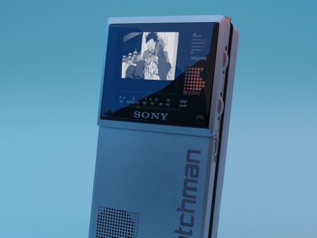 Sony Watchman Model FD-20A