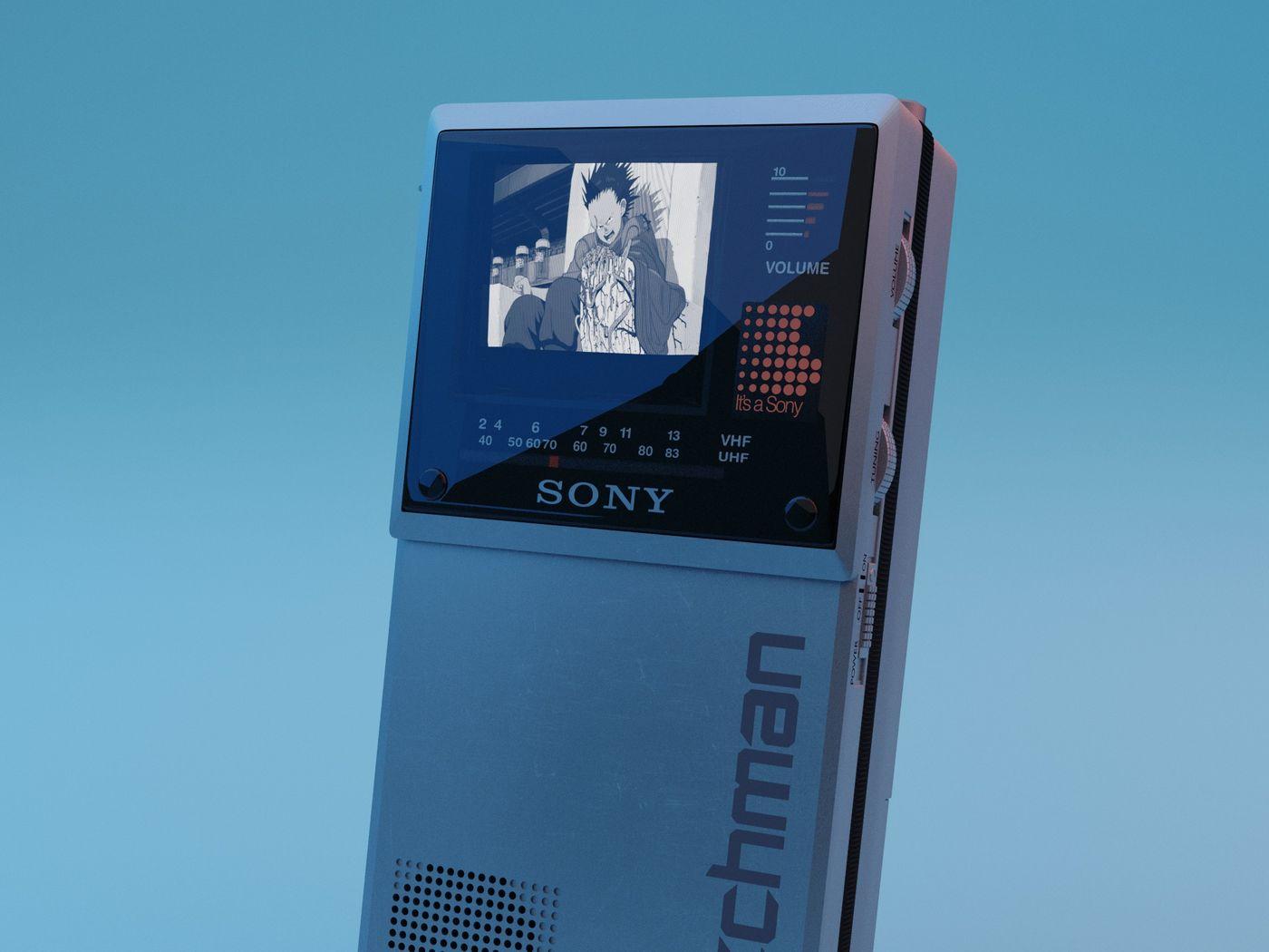 Sony Watchman Model FD-20A