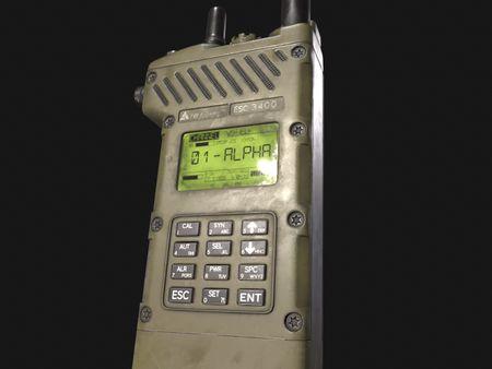 Handheld Military radio